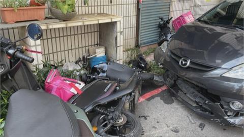 懷疑外送員妻搞外遇 醋醰翻開車撞人反遭情敵打傷
