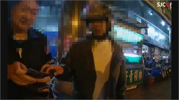 黃湯下肚不服攔查 比中指惹怒員警 被拖下車強制逮捕 妨礙公務送辦