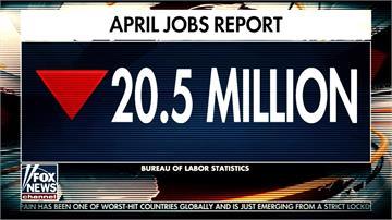 美國失業率達14.7%創史上之最!川普淡定:會降下來