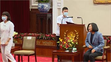 快新聞/國際護理師節接見護理代表 蔡英文致謝:你們是防疫國家隊的重要戰力!