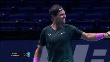 網球/納達爾拚ATP年終賽冠軍  擊敗衛冕冠軍進四強