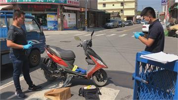 現世報!老翁ATM提款遭搶賊逃走後被車撞 躲宮廟被警逮捕