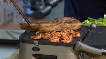 烤肉不空污!業者推無煙烤肉爐、磚壓烤器材