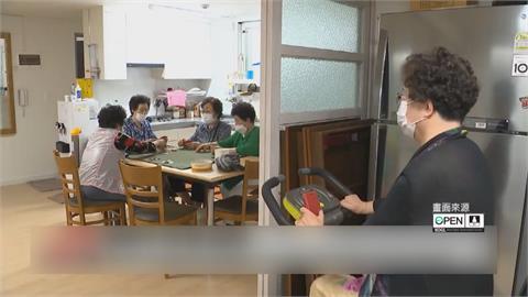 南韓部份老人活動中心重開 至少打過一劑疫苗長者開心相聚