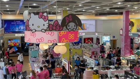 全台第一家! 電器賣場與卡通聯名台南開幕