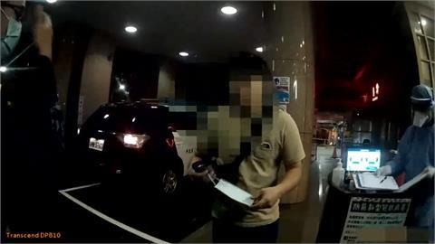 鹽酸加漂白水中毒 高雄男攔警車求助