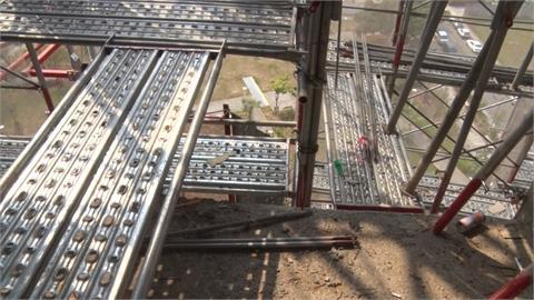突檢高風險營建工地 查獲12項缺失勒令停工