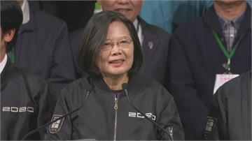 連任1年來挑戰重重 蔡總統:用行動改變台灣