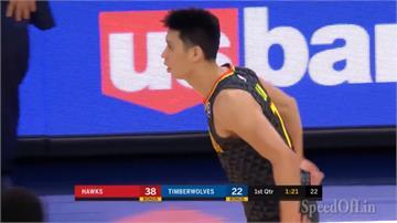 林書豪手感欠佳得7分3籃板 老鷹延長賽險勝灰狼