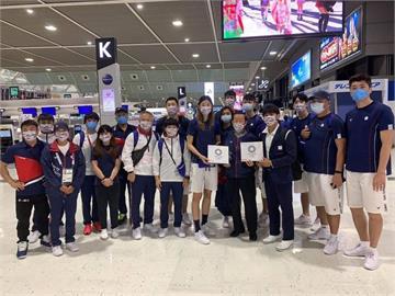 東奧/楊勇緯、羅嘉翎準備返台! 謝長廷暖心送機:謝謝選手們為台灣的努力和心血