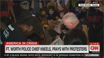 全美抗議延燒 多地警察遭攻擊