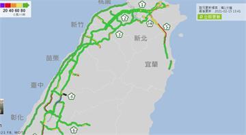 快新聞/國道下午湧車潮 高公局公布11處壅塞路段