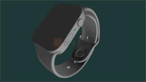 Apple Watch 7外觀圖曝光!延續iPhone12設計「側邊多2條槓」
