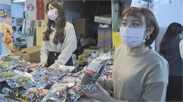 三鳳中街湧入人潮 必戴口罩、量體溫