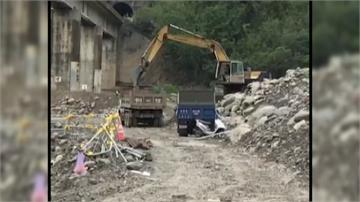 南迴鐵路電氣化工程 承包商盜採大武溪砂石