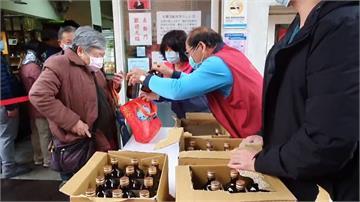 才開賣就被掃光...民眾瘋狂搶購酒精 業者限量每人限購兩瓶