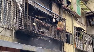 新店公寓大火 婦自行滅火反受困身亡