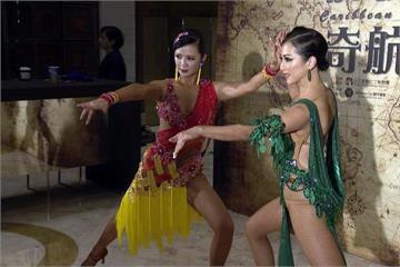 舞蹈比賽跳出心得 廖家儀、高欣欣秀舞技