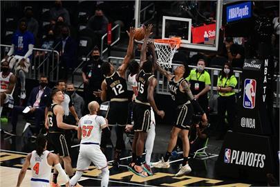 NBA/老鷹113比96擊退尼克 取得季後賽首輪聽牌