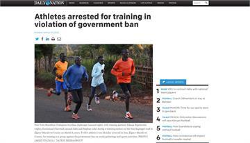 紐約馬女子冠軍 肯亞「集體練跑」遭逮捕