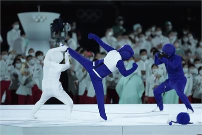 東奧/開幕超級變變變 小藍人演員曾訪台