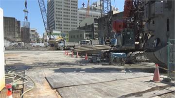 彰基工程路面四度坍塌民宅傾斜裂縫 馬路見天坑
