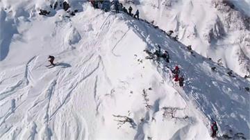 昔冬奧舉辦地拚戰 日本白馬極限滑雪賽登場