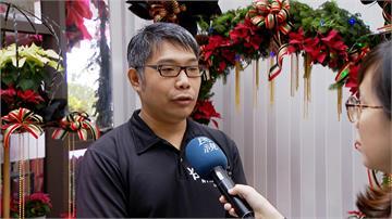 聖誕紅買氣現 台北花市估12月中旬最旺