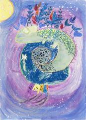 花王扎根教育推動永續 國際兒童環境繪畫比賽首獎在台灣