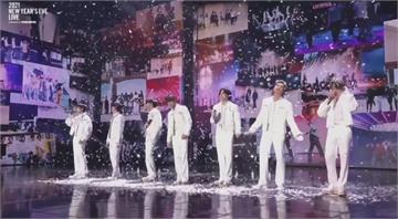 南韓天團BTS屢創佳績 線上開唱畫下2020句點