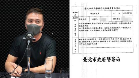 「條子鴿」說謊又被抓包!台北市警局公布紀錄:無因攔檢受處分
