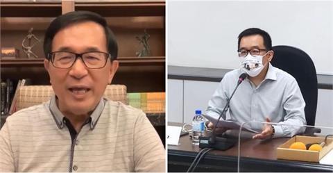 陳致中突PO:台南住家有可疑包裹 A3公文袋「陳水扁收」警方介入處理!