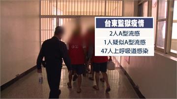 台東監獄爆2人A型流感確診 47人上呼吸道感染