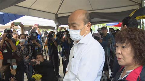 傳韓國瑜將在臉書正式宣布「不選黨主席」 王淺秋:還在評估中