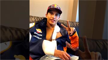 賽車/六屆冠軍車王重摔骨折 手術順利幸沒傷到神經