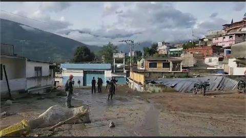 雨彈襲委內瑞拉奪20命 洪水吞噬1200棟房屋