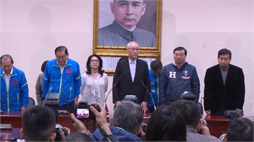 吳敦義今請辭國民黨主席 中常委獲共識「不慰留」