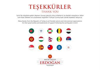 快新聞/我國旗躍國際! 愛琴海強震釀死傷 土耳其總統艾度恩推文感謝各國祝福