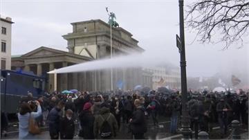 抗議政府防疫政策德國上千民眾上街示威