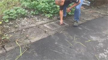水溝掀蓋害老翁騎單車摔癱  法院判決鄉公所須國賠159萬
