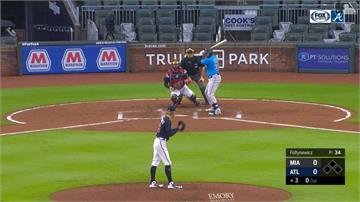 MLB/馬林魚很弱?熱身賽連三棒轟出全壘打