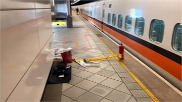 高鐵乘客稱有爆裂物 警封鎖月台逮人拆彈