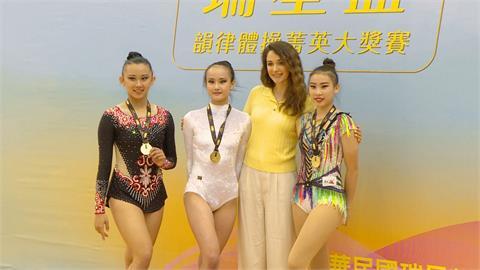 瑞莎「無酬」培育體操選手又辦比賽!盼未來台灣賽事升級國際水準