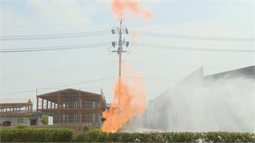 工人挖破瓦斯管線 火球竄天 民眾:就怕氣爆