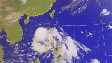 二號颱風鸚鵡往香港去 外圍雲系為花東、南部帶來水氣