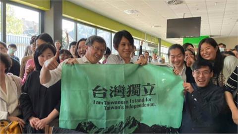 力挺謝志偉 吳釗燮:拿國旗心裡想著台灣.有什麼錯?