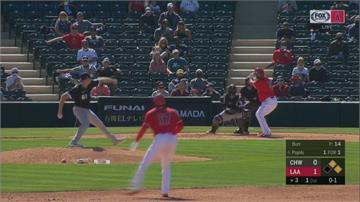 MLB/林子偉熱身賽先發!  大谷首度上場敲兩安
