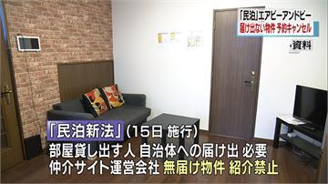 新法將上路!日本Airbnb全數下架未登記民宿