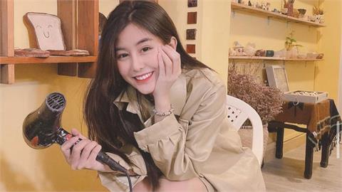 越南網紅正妹穿「奧黛」絕世好搭 「S級天使線」手1高舉不得了!