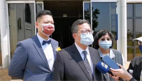 快新聞/明赴部桃接種AZ疫苗 鄭文燦喊話:相信安全有效